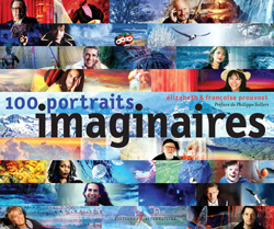 100 portraits imaginaires - Couverture