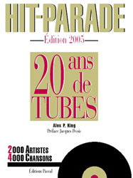 HIT-PARADE 20 ans de TUBES - Couverture
